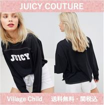 Juicy by Juicy Couturey☆コントラストステッチ ロンT 送関込