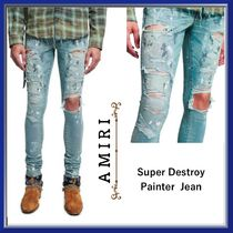 AMIRI■ Super Destroy Painter Jean ■2018 SS■MBDES-PNT-92