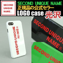 【NEW】「SECOND UNIQUE NAME」 LOGO 光沢 case 正規品