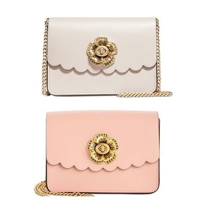 Coach ショルダーバッグ・ポシェット Coach ◆ 24976 Bowery Crossbody with Tea Rose Turnlock
