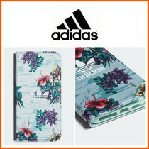 新作☆adidas☆Floral Booklet Case iPhone 8+