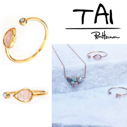 RonHerman取扱【TAI】OPAL AND ROSE ドロップストーン リング