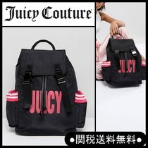 """UK話題沸騰中!Juicy Couture"""" ナイロンロゴ バックパック BL/P"""