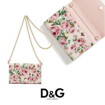 D&G JUNIOR(ドルチェアンドガッパーナジュニア) ショルダーバッグ・ポシェット 【Dolce & Gabbana】WALLET BAG IN PRINTED