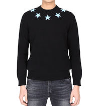 【関税負担】 GIVENCHY STAR PATCH SWEATER