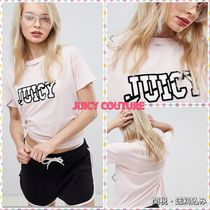 ★Juicy By Juicy Couture★ロゴTシャツ(スラッシュネック
