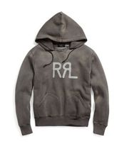 新作★送料関税込★ RRL Cotton-Blend Graphic Hoodie