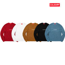 WEEK6★SUPREME(シュプリーム)Cheast Stripe Raglan Sweater