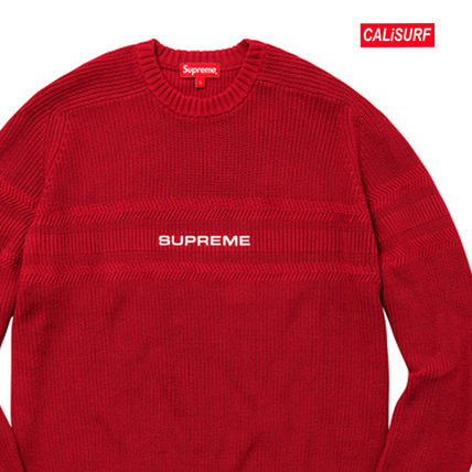 Supreme スウェット・トレーナー WEEK6★SUPREME(シュプリーム)Cheast Stripe Raglan Sweater(2)