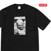 WEEK6★ SUPREME(シュプリーム)FUCK FACE TEE-BLACK/XL