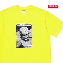 WEEK6★ SUPREME(シュプリーム)FUCK FACE TEE-YELLOW/XL