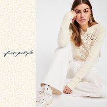 ★Free People★フリーピープル★Frosted Lace セーター★