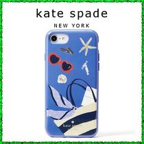 ★kate spade★ 新作 ビーチバッグ柄 iPhone7/8ケース