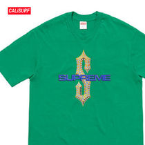 WEEK6★ Supreme(シュプリーム)DIAMONDS TEE-GREEN/L