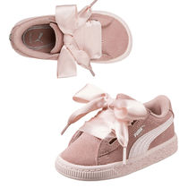 ★PUMA KIDS★Suede Heart Jewel Inf★送料込/追跡付 36514001