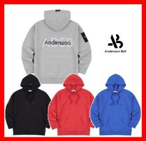 2018ss★【ANDERSSON BELL】★ UNISEX LOGOTYPE LABEL HOODIE ★