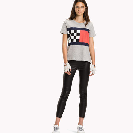 Tommy Hilfiger Tシャツ・カットソー [Tommy Hilfiger] レギュラー フィット Tシャツ REGULAR FIT T-S(2)