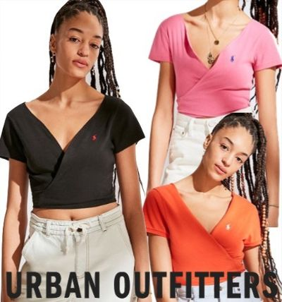 Urban Outfitters Tシャツ・カットソー Urban Outfitters×POLO リメイク クロップドトップス