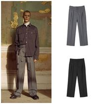 ANDERSSON BELLのMAISON BELTED WIDE TROUSER apa216m 全2色