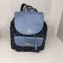 【COACH】新作☆MINI BILLIE BACKPACK F25893☆Denim☆