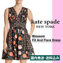 【国内発送】BLOSSOM FIT AND FLARE DRESSセール