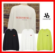 ANDERSSON BELL(アンダースンベル) Tシャツ・カットソー 人気★【ANDERSSON BELL】★ COLOR N SHAPE Tシャツ ★3色★