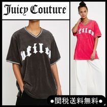 Juicy Couture X VFILES* ベロアTシャツ コラボアイテム G/P