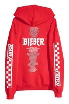 国内配送 H&M PRINTED HOODED H&M x STADIUM MERCH JUSTIN