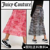 Juicy Couture X VFILES* コラボ ロゴプリントスカート2色