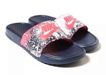 追尾/関税/送料込 Nike Benassi Just Do It Print 618919-014
