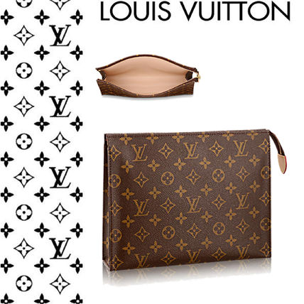 Louis Vuitton メイクポーチ 【ルイヴィトン】ポッシュ・トワレ 26 化粧用ポーチ