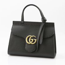 GUCCI  442622-A7M0T-1000 グッチ 2WAYバッグ レザー