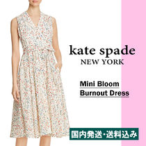 【国内発送】MINI BLOOM BURNOUT DRESSセール
