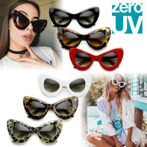国内発送★zeroUV★Retro Mod Super Trendy Cat Eye 9233