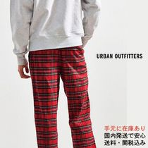 【UO】Spencer Flannel Pant Red チェック パンツ (送料関税込)
