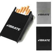 VIBRATE SQUARE METAL CIGARETTE CASE 2色