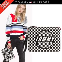 ◆TOMMY◆ロゴ クラッチバッグ