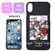 ☆国内発・関送込☆Off-White 新作☆Flower Shop IphoneXケース