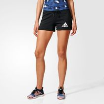 ADIDAS PERFORMANCE Cotton MIx Shorts★ロゴ入りショートパンツ