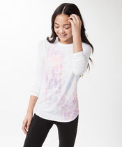 【 Calm To Energy Long Sleeve 】★ White/Light As A Feather