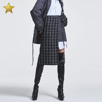 more than dope(モアザンドープ) スカート ◇more than dope◇ Strap skirt (Gray)