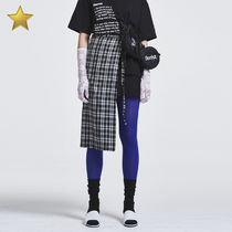 more than dope(モアザンドープ) スカート ◇more than dope◇ Strap skirt (Black)