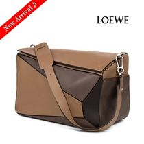 最新作♪♡LOEWE Puzzle 5WayバッグXL,Black/Grey/Taupe
