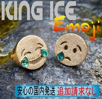 LA発ストリート★King Ice★HipHopリング The Laugh Now Emoji