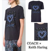 COACH×Keith Haring ハートプリント Tシャツ