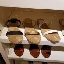 セール!Tory Burch★ 2 BAND ESPADRILLE SLIDE