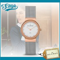 《SKAGEN》スカーゲン FREJA STEEL MESH WATCH 358SRSC