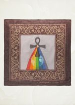 """【Dior】18SS新作 """"XX Judgment"""" cotton and cashmere square"""