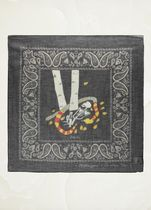 """【Dior】18SS新作 """"XIII Death"""" cotton and cashmere square"""