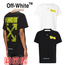 OFF-WHITEが魅せる☆FIRETAPE ARROW Tee☆TEMPERATURE